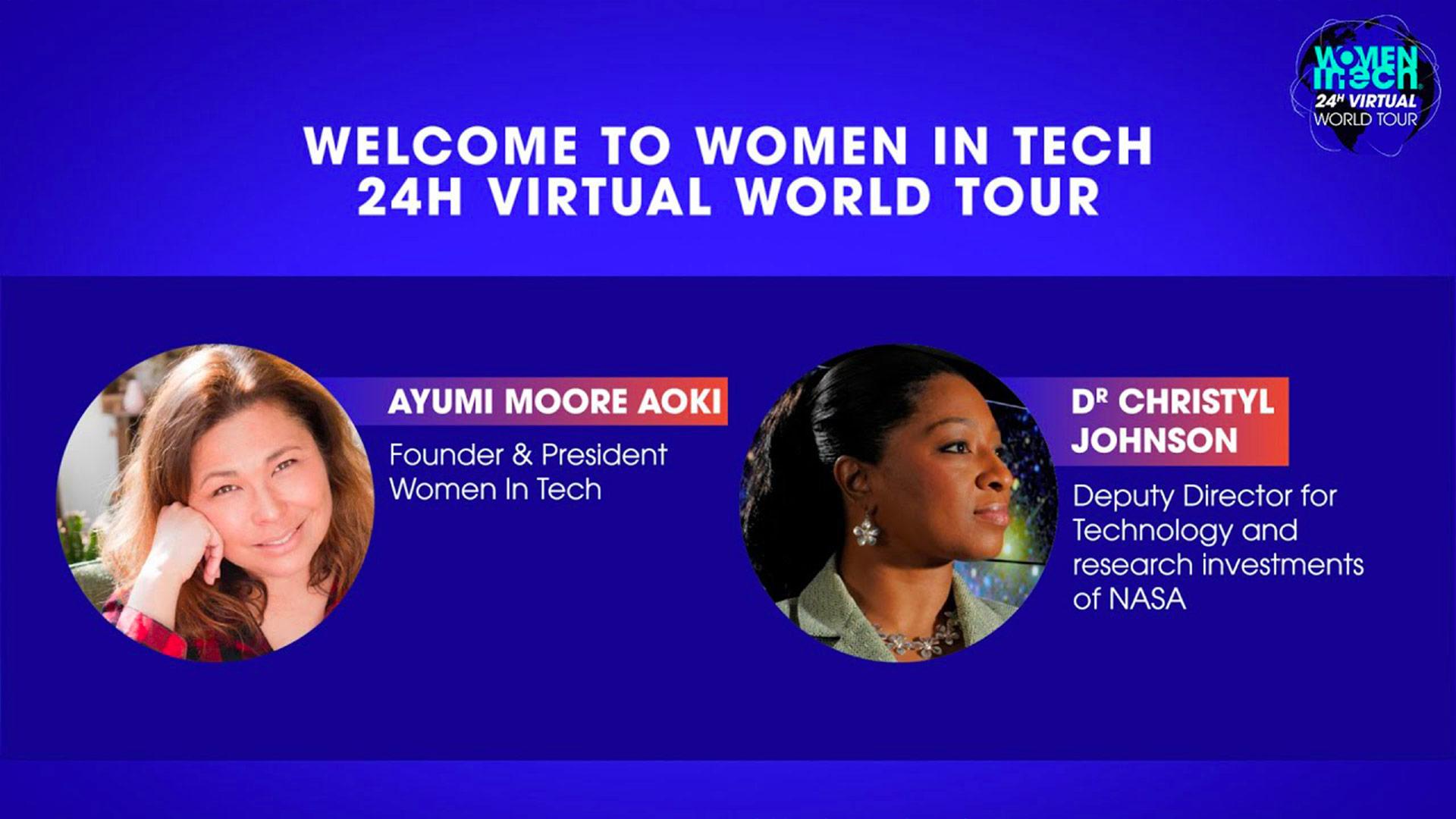 Welcome to Women in Tech® 24h Virtual World Tour
