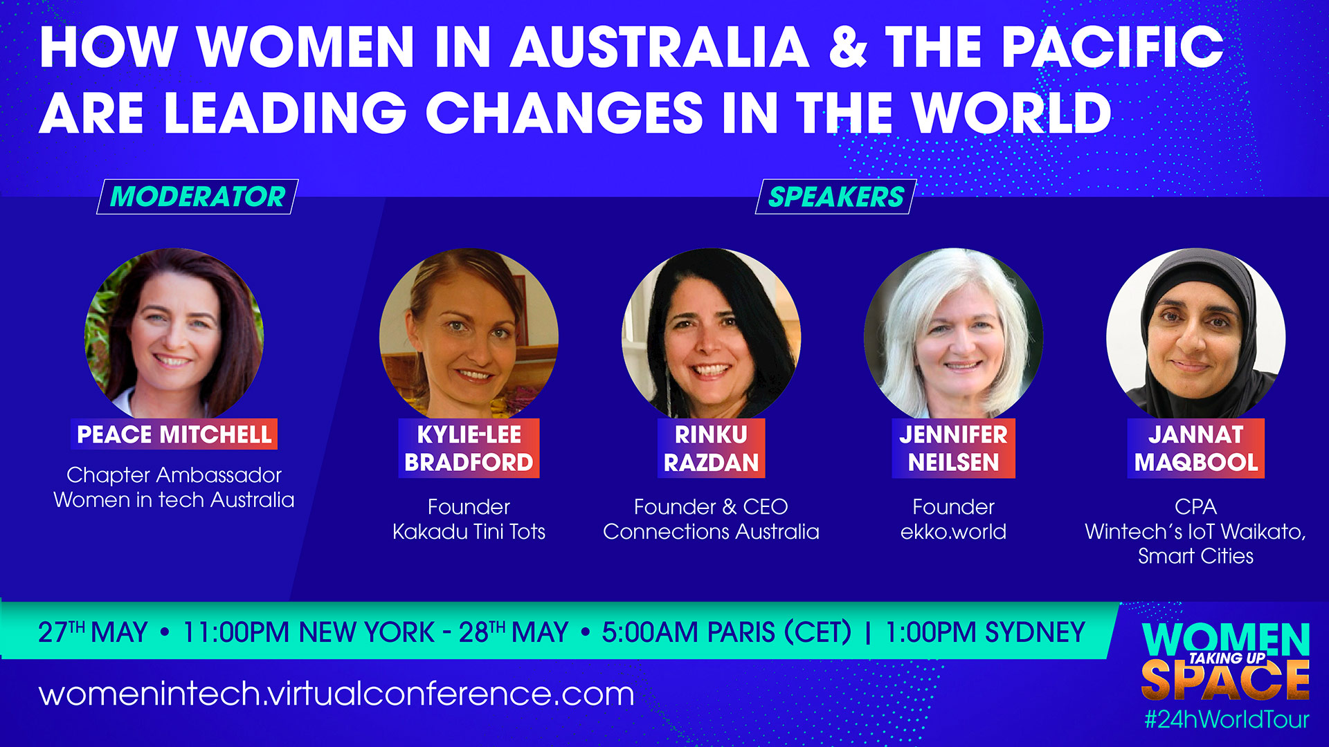 How Women in Australia & the Pacific are leading changes in the world