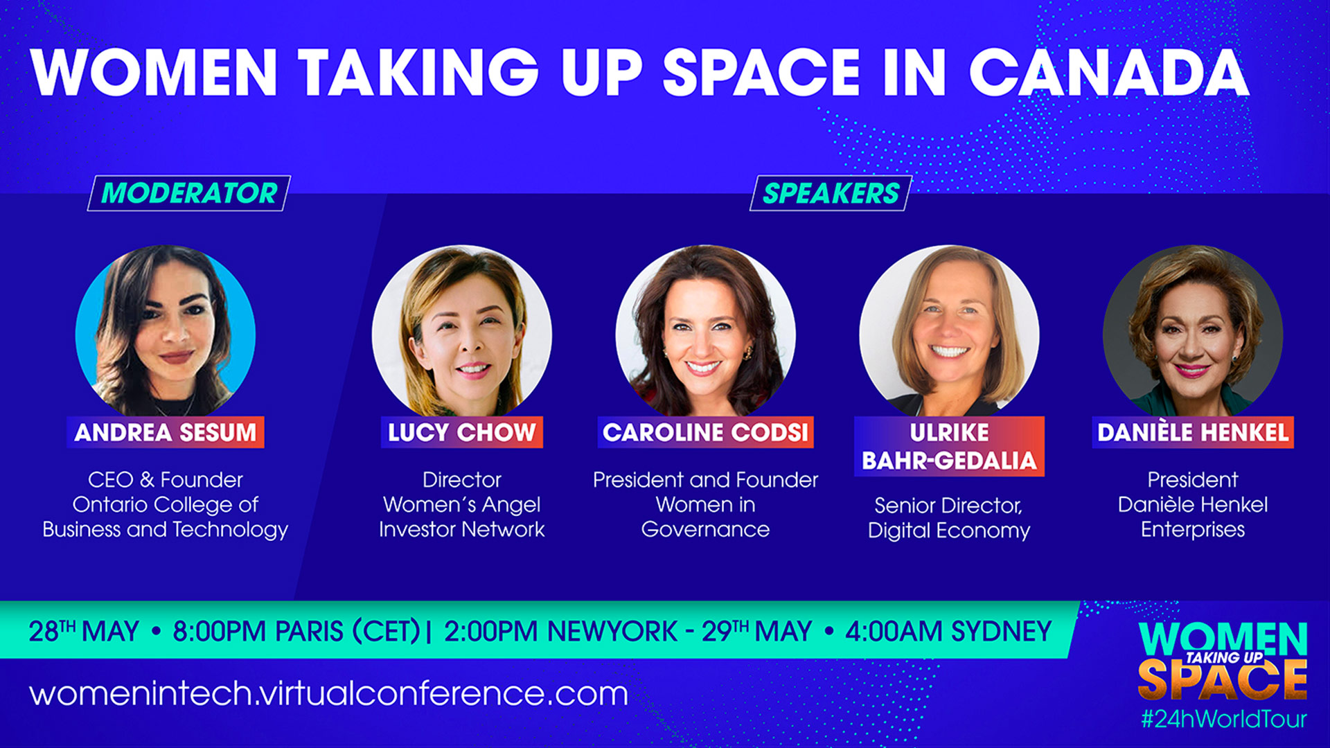 Women taking up space in Canada