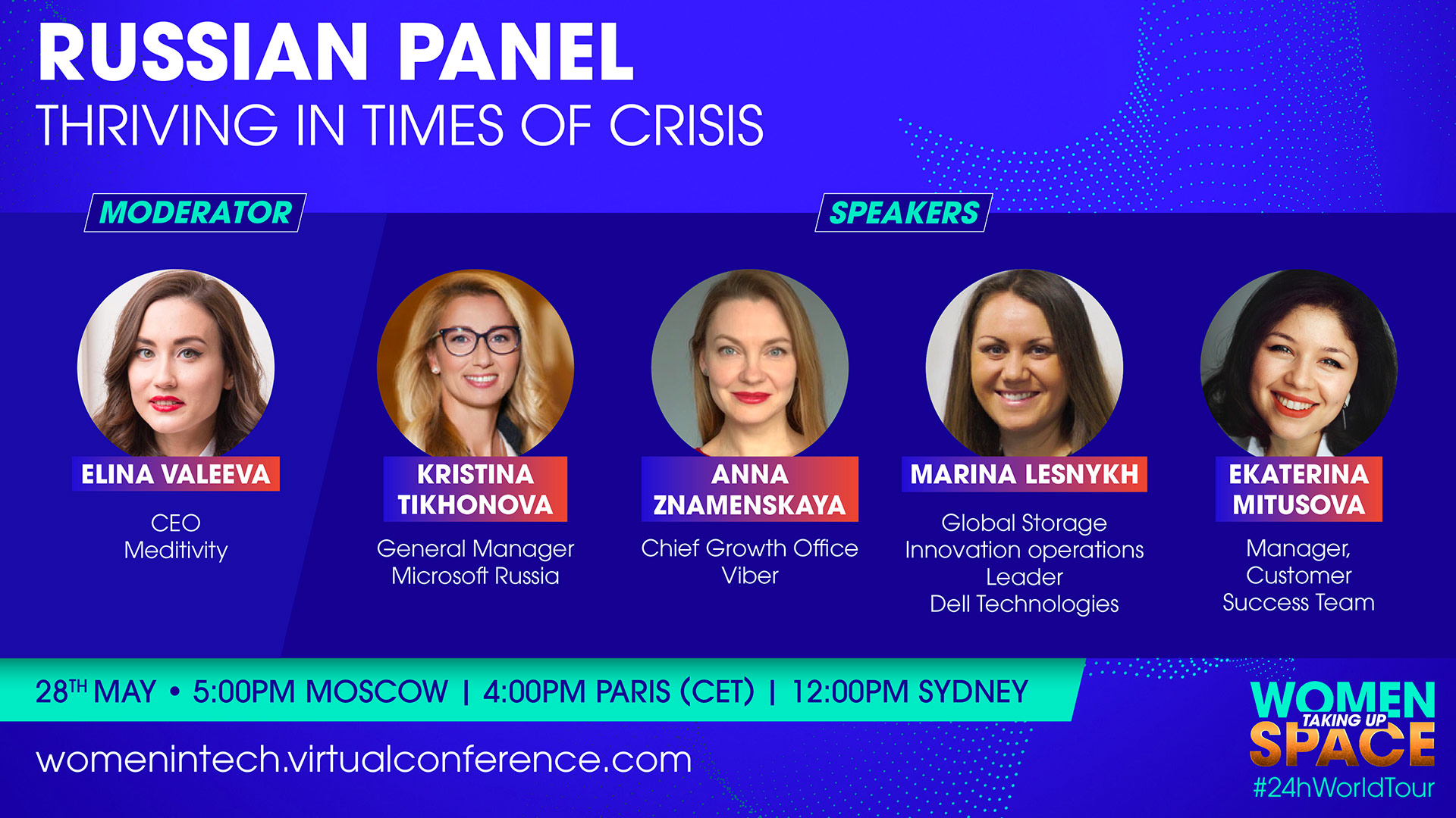 Women in Tech Russia –  Thriving in a time of crisis