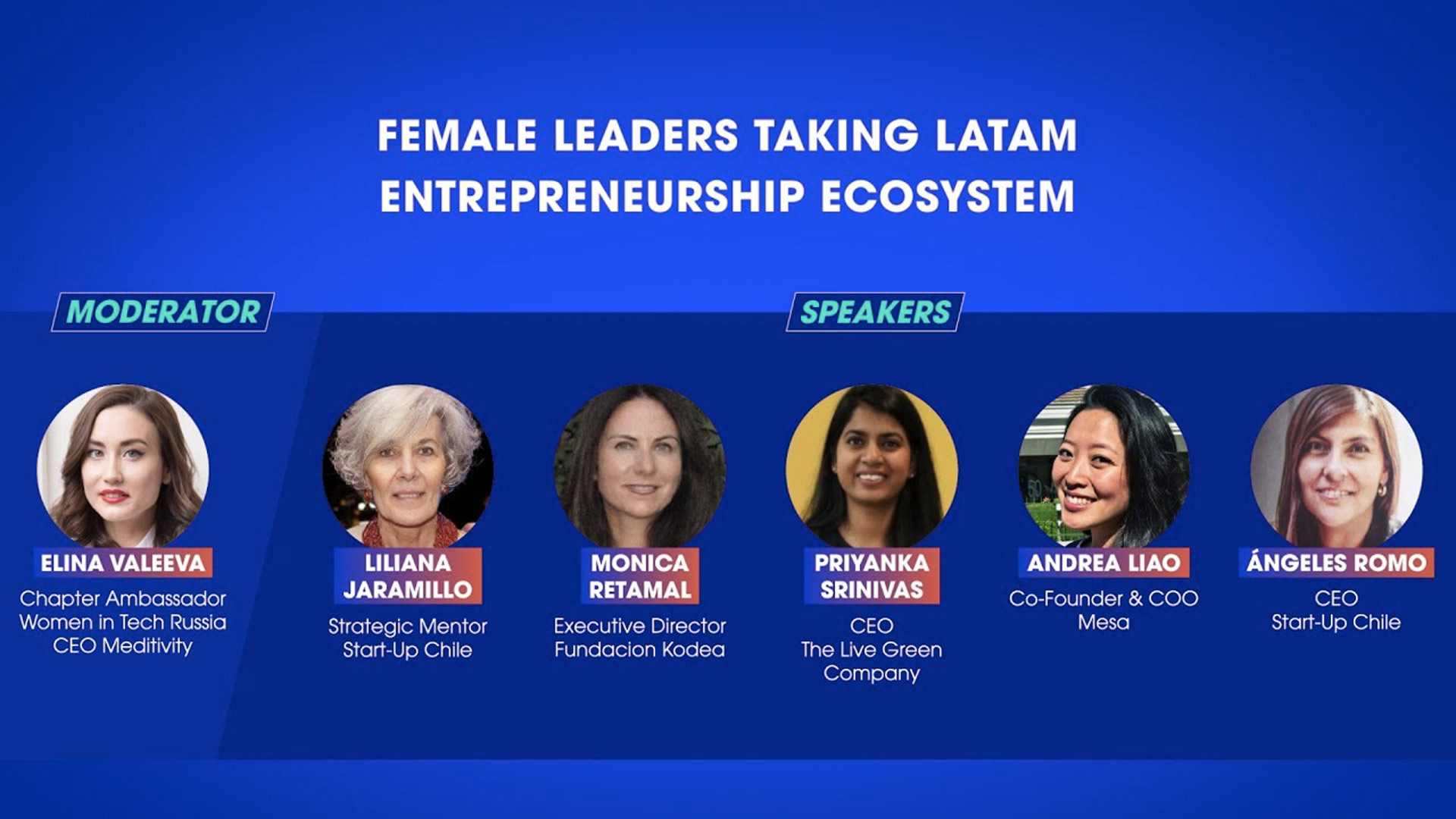 Female leaders taking LATAM entrepreneurship ecosystem
