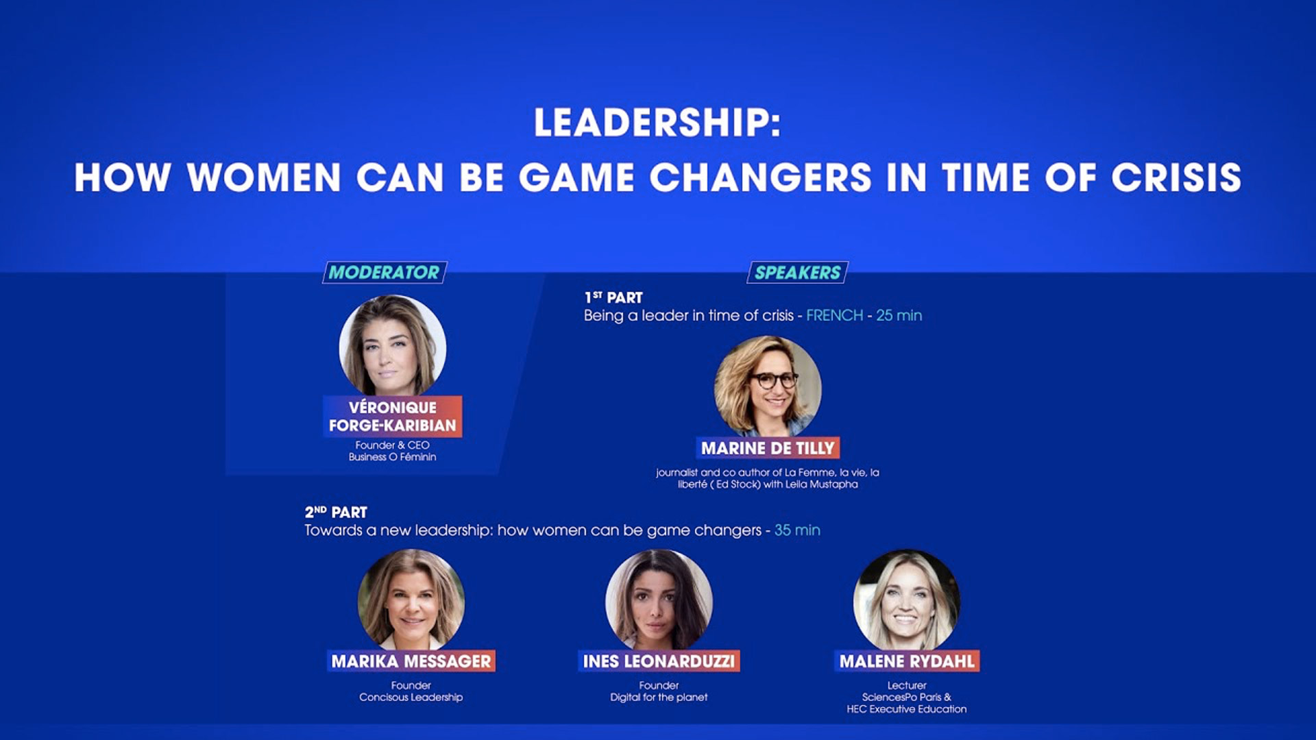 Leadership: How women can be game changers in time of crisis