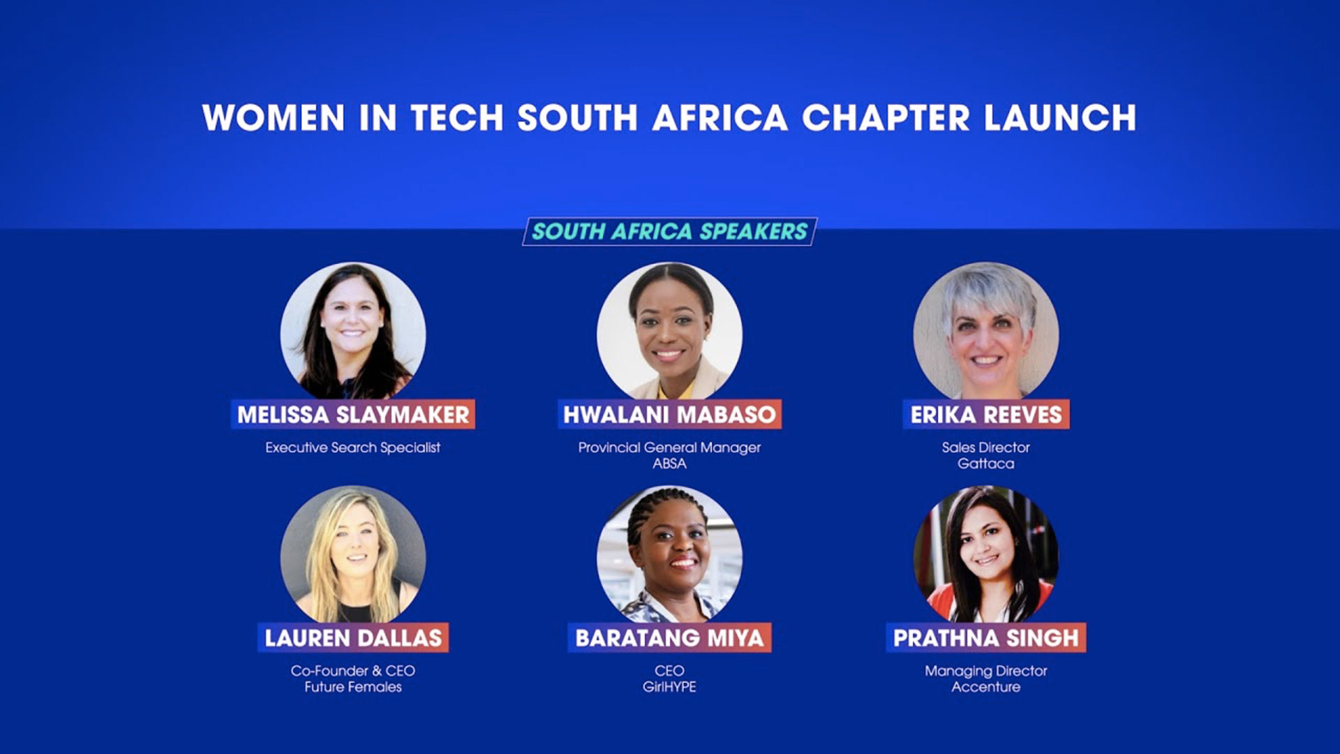 Women in Tech South-Africa Chapter Launch