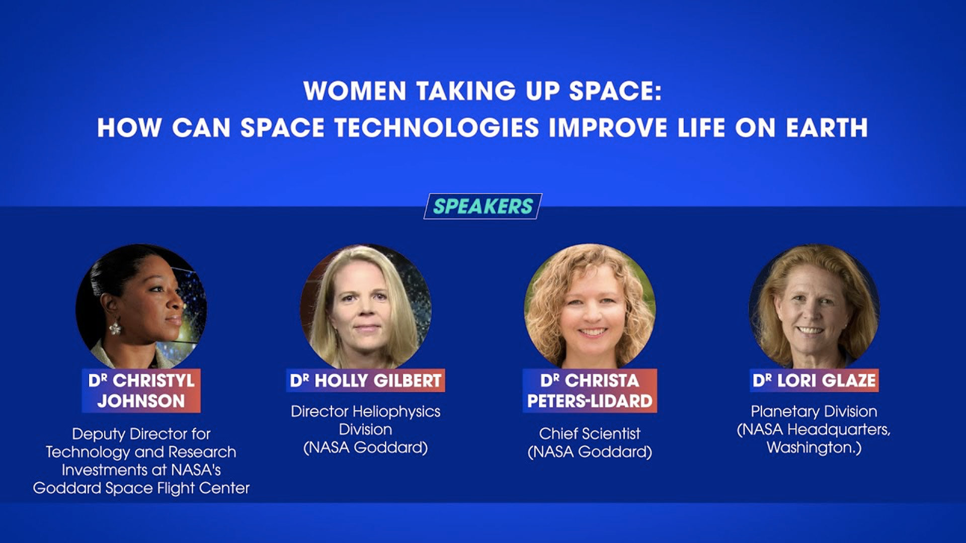 Women Taking Up Space: How can space technologies improve life on earth